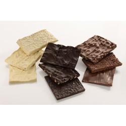 Placche di cioccolato sfuso